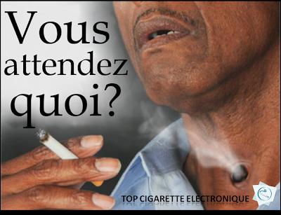 La cigarette tue, la cigarette électronique non... Alors faites votre choix.