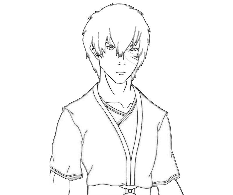 avatar-zuko-character-coloring-pages