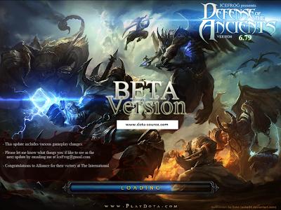 DotA 6.79 Beta