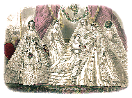 Clothing style victorian clothing style for Victorian era wedding dresses