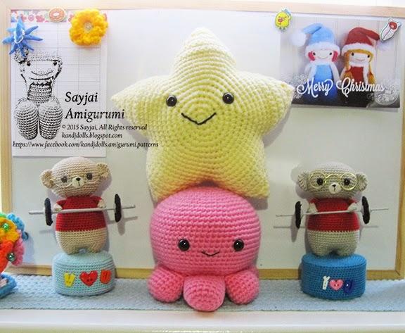 Sea Animals Crochet Patterns - Sayjai Amigurumi Crochet ...