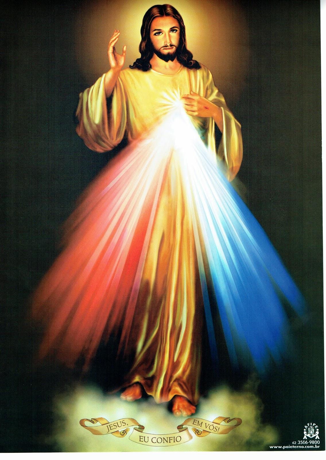 Super imagens de jesus misericordioso eu confio em vós KS49
