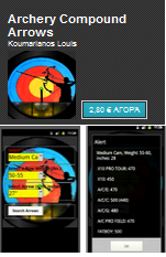 Android app Archery Compound Arrows