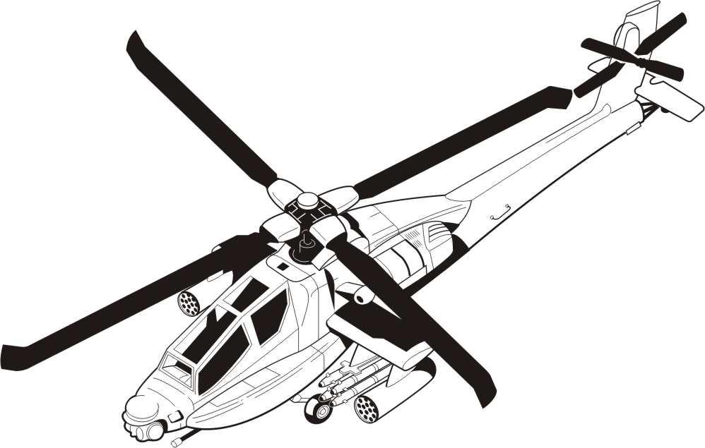 Contemporáneo Helicóptero Del Ejército Para Colorear Adorno ...