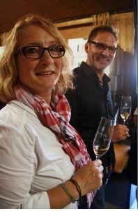 Peter J. und Helga König im Gespräch mit Andrea und Udo Knodt