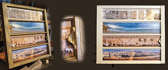 ISRAEL PANORAMICS AS WINDOW ART