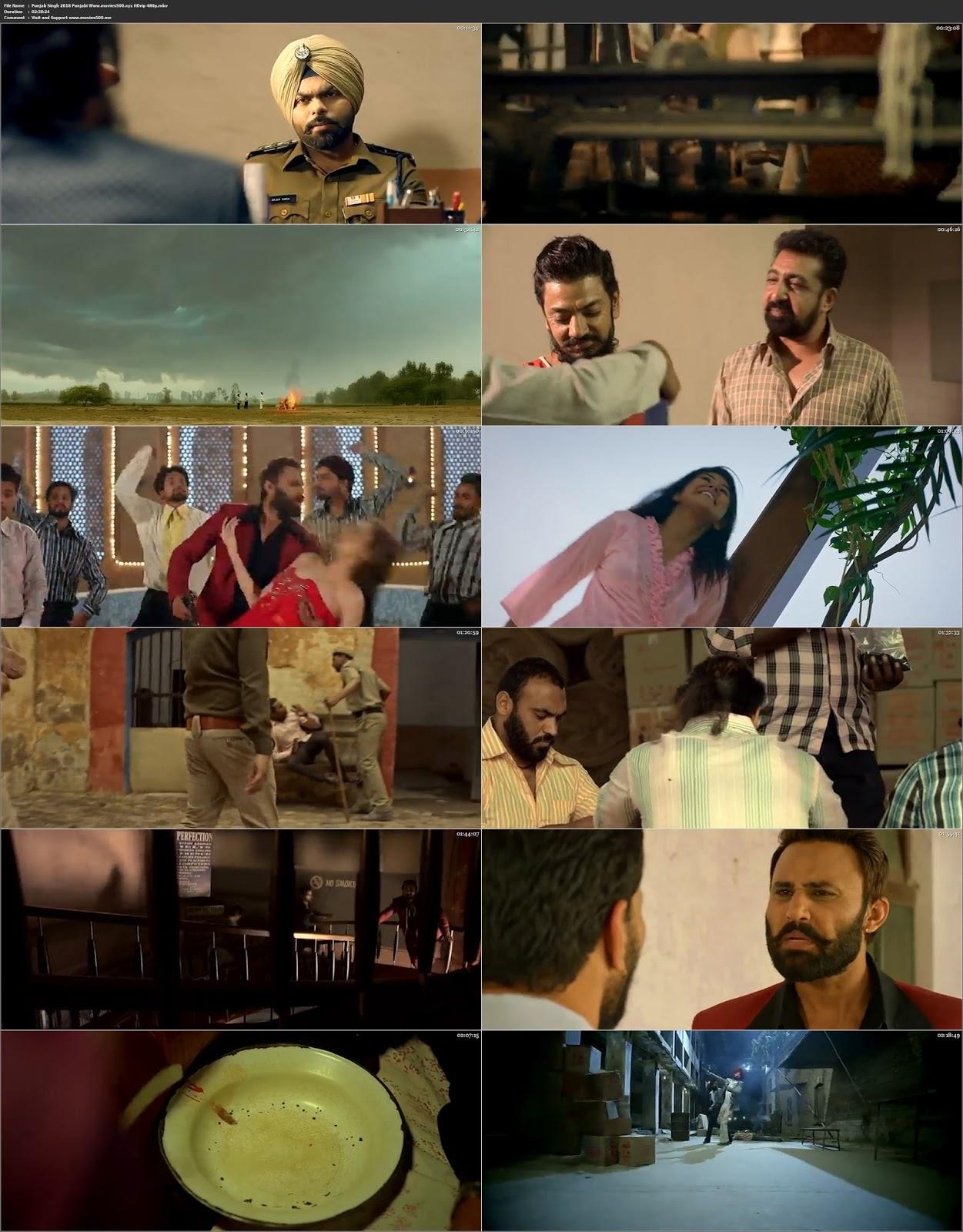 Punjab Singh 2018 Full in 300MB Punjabi Movie HDrip 480p at 9966132.com