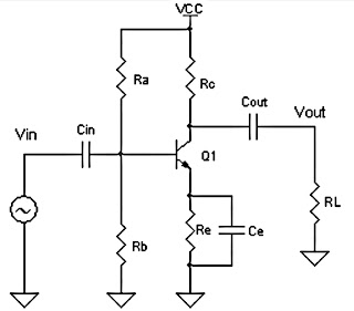 Class A schematics power amplifier