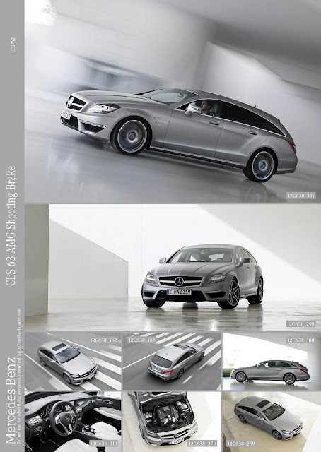 фотографии Mercedes-Benz CLS 63 AMG Shooting Brake 2013