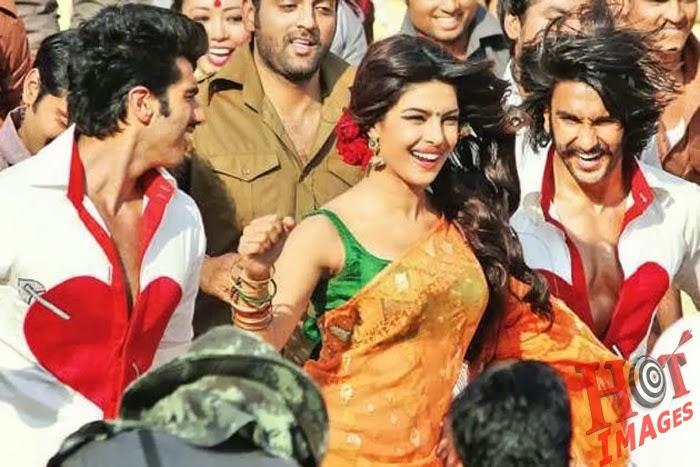 Priyanka Chopra Hotand cute Saree in gunday