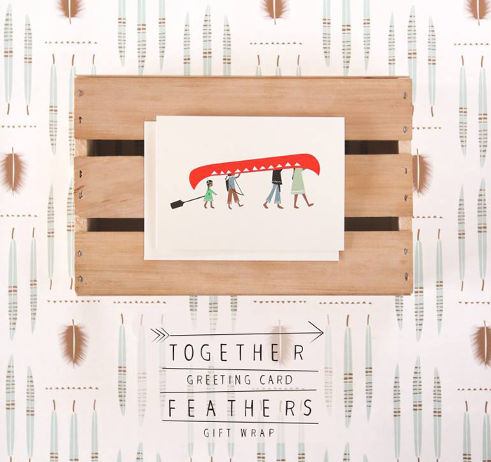 greeting card together from 'pleased to meet'