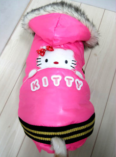 Hello Kitty pet dog tracksuit jacket