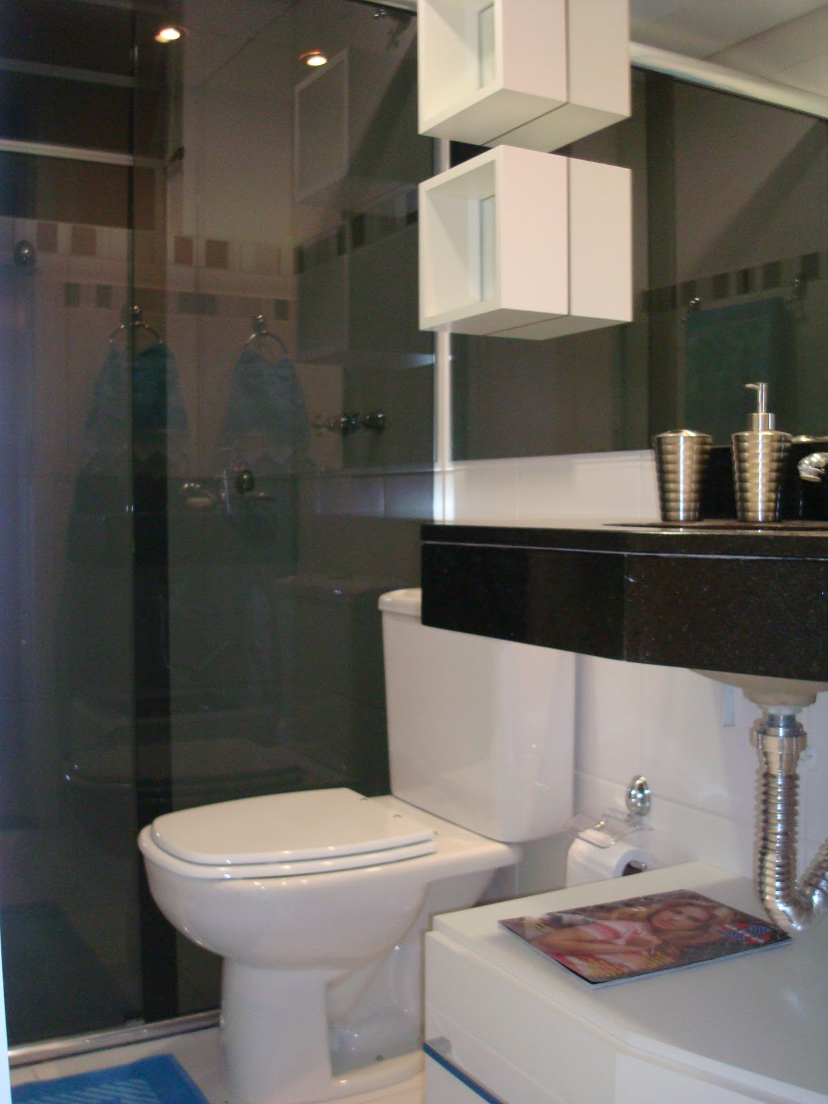 Daiane Manica Abril 2011 -> Banheiro Pequeno Comprido