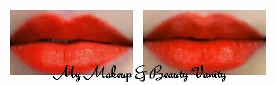 MAC Marilyn Monroe Collection scarlet ibis Lipstick Review, Swatches, mac lipstick swatches, orange lipstick lipstick+mac marilyn collection+mac collections