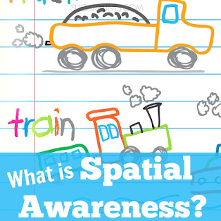 What is spatial awareness and why do kids need it for handwriting?  Tips and tools from an Occupational Therapist.