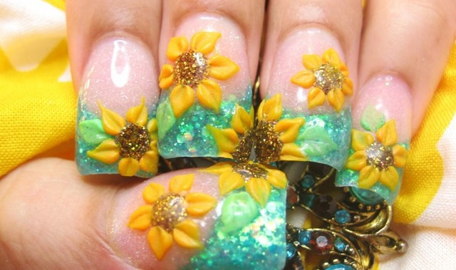 Flower Designs Nail Art Your Getaway To Beautiful Nails Corner