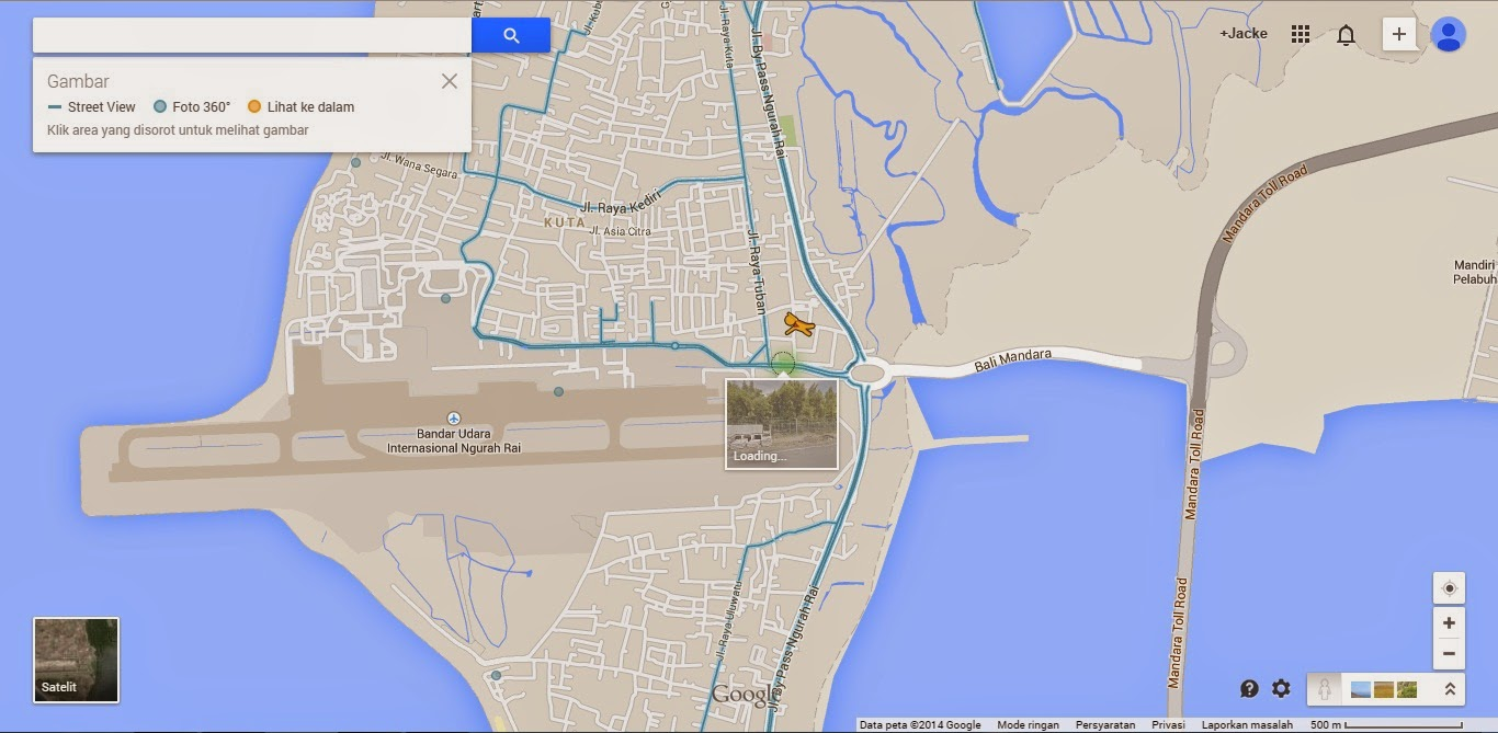 Google Street Indonesia