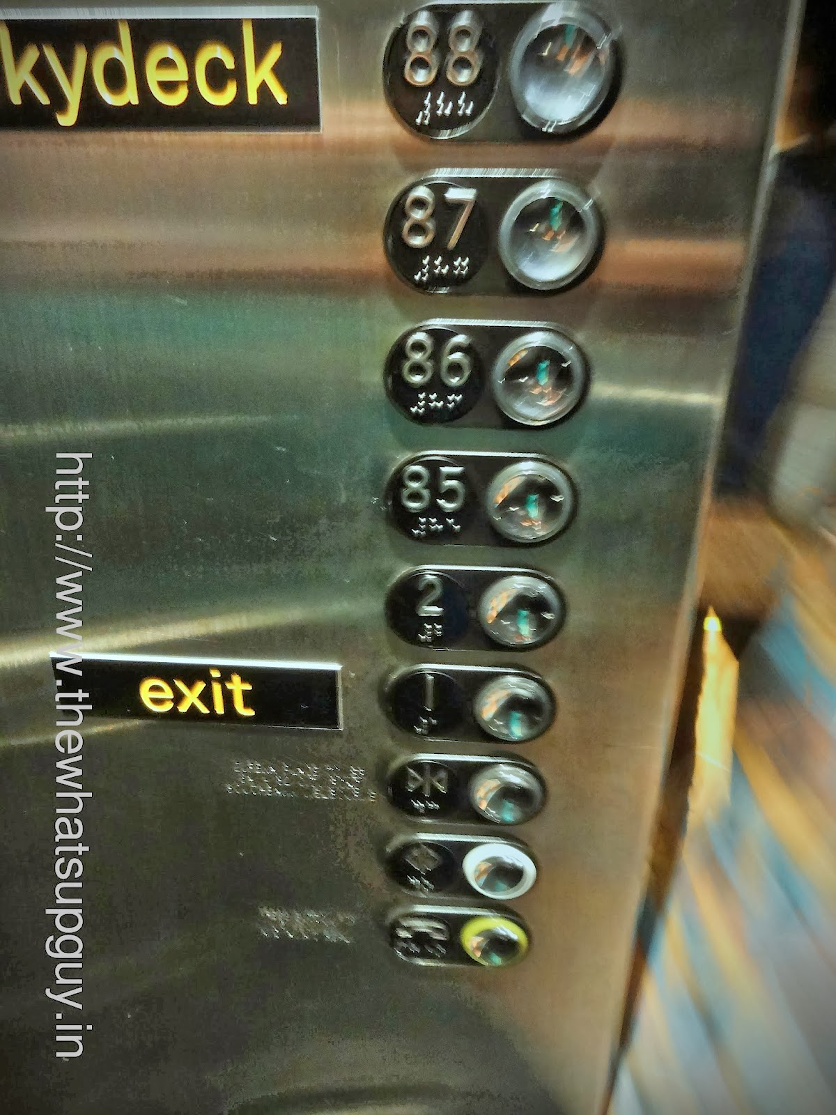 Eureka Towers Lift