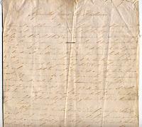 Manuscrito carlista sobre la batalla de Las Muñecas