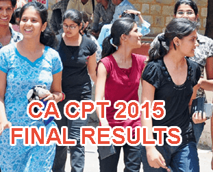 CA CPT June 2015 Results Today 2 PM, CA CPT Toppers 2015 Name wise, CPT Result 16th July 2015, ICAI CA CPT Final Result 2015 Declared on caresults.nic.in CPT Result 2015 June, CA CPT Results with Rank Card 2015, CA CPT June 2015 Final Result, CA CPT Results Pass Percentage