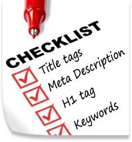 SEO Check list para blogger 2015