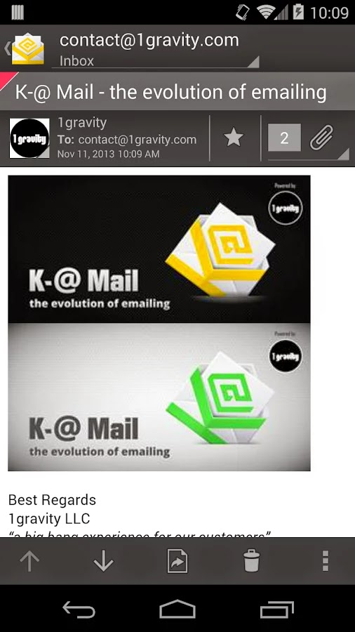 K-@ Mail Pro - Email App v1.6.0