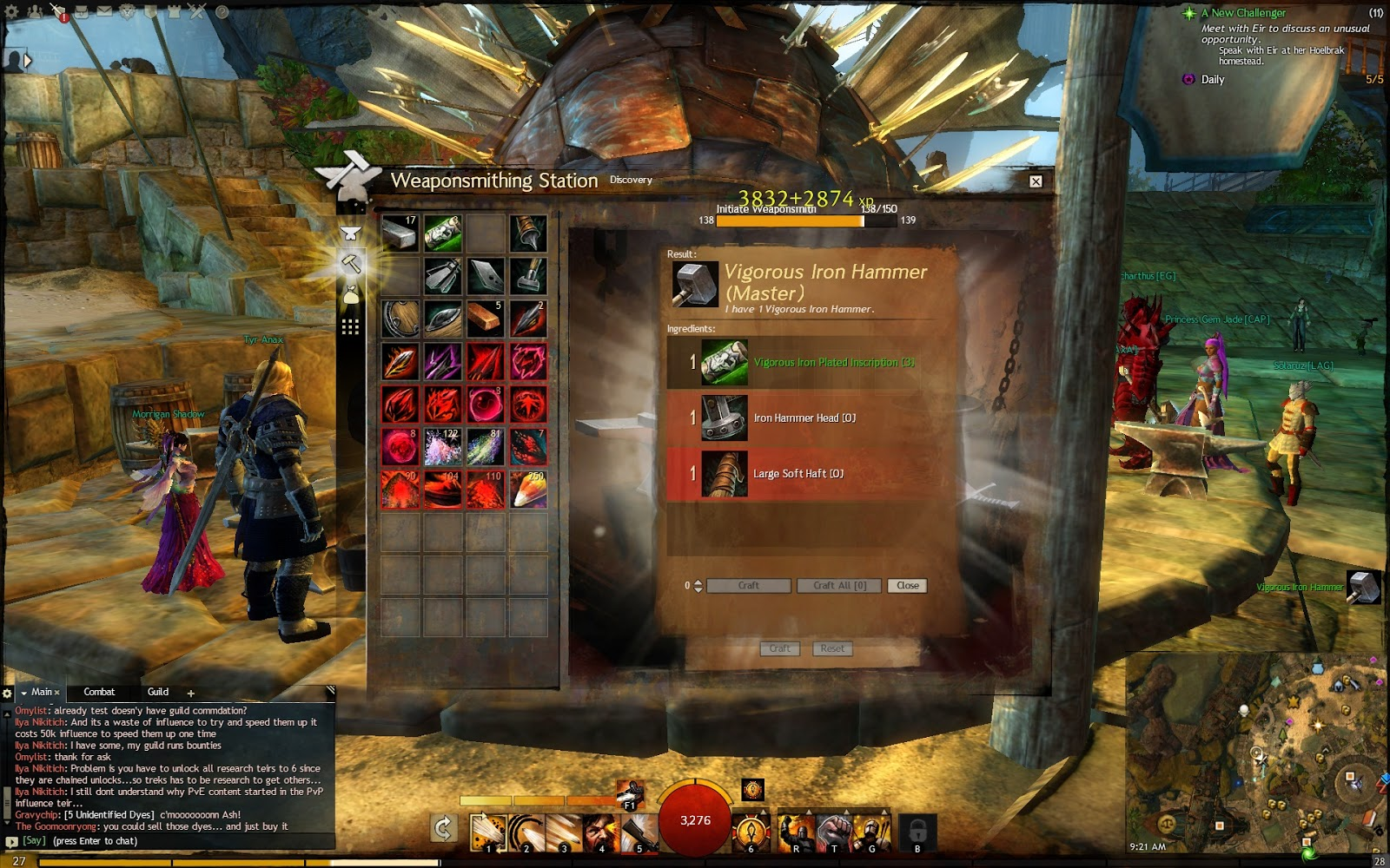 Guild Wars  Crafting Discoveries