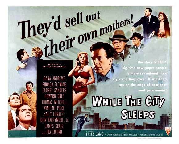 Risultati immagini per quando la città dorme film1956
