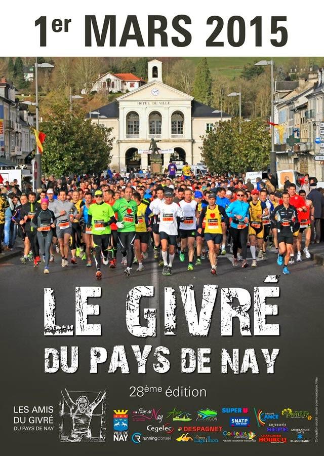 Trail : le Givré 2015 de Nay