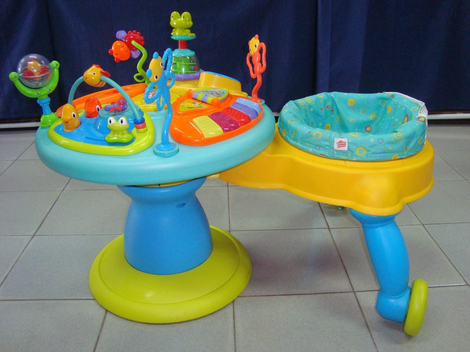 preloved toysworld thetottoys bright starts doodle bugs around we go activity station. Black Bedroom Furniture Sets. Home Design Ideas
