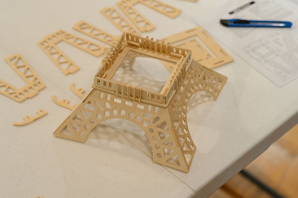 Base of the Eiffel Tower Puzzle