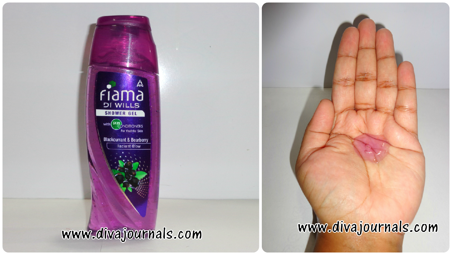 Fiama Di Wills Shower Gel -Enlivening beads for Rejuvenating Care (Purple Bottle)