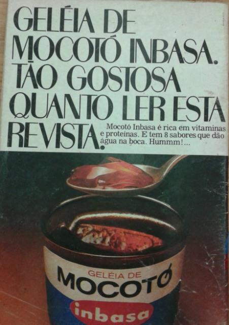Propaganda da Geléia de Mocotó produzido pela Inbasa, nos anos 80.