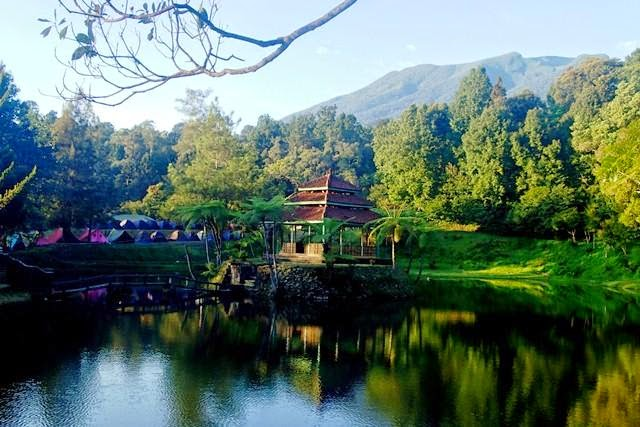 Tempat Wisata Mandalawangi Cibodas - Cianjur Jawa Barat