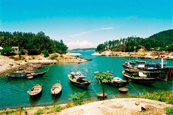 The beauty of Cu Lao Cham  near Hoi An ancient town