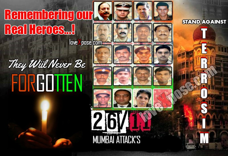 26/11 Mumbai Attack remembering Shahid Tribute