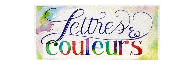 Lettres et couleurs