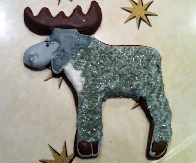 Disco Moose Cookie