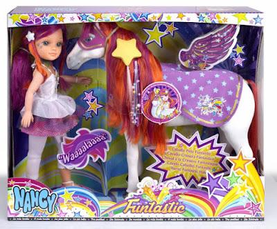 TOYS : JUGUETES - NANCY Caballo FuntasticMuñeca + Caballo Producto Oficial 2015 | Famosa 700012426 | A partir de 4 años Comprar en Amazon España