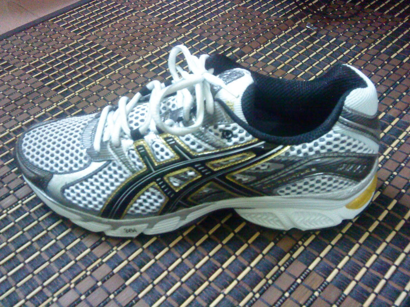 My Asics Gel Kanbarra still in good condition. Haven t done much running  tbh. Awesome running shoe though. d82f20d93f0c5