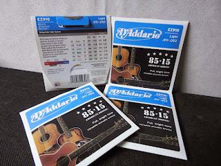 Dây Guitar Acoustic , D'Addario EZ910