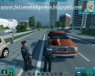 Police simulator game