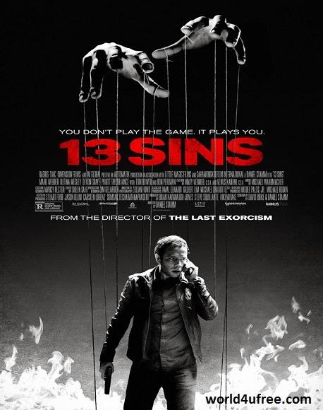 13 Sins 2014 HD WEBRip 480p 300mb ESub