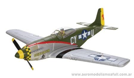 ParkZone P-51D BL DSM RTF