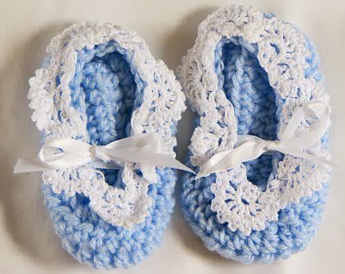 Free Crochet Pattern Christening Shoes : Donnas Crochet Designs Blog of Free Patterns: Christening ...