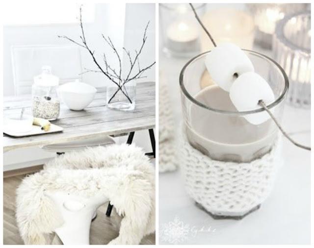 Winter, knit, cozy, hot chocolate