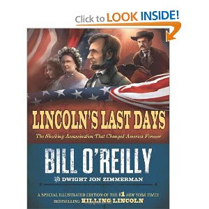 Lincoln's Last Days Release Date Book