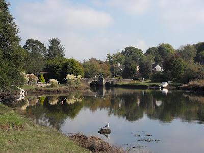 River Lerryn and bridge