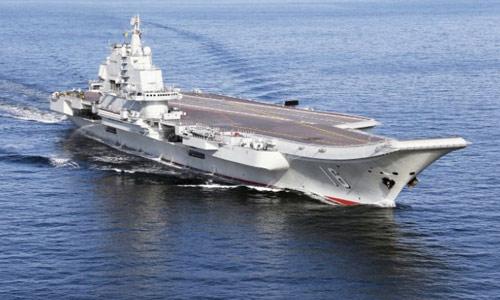 Cina Akan Kerahkan kekuatan Penuh Dengan Mengirim Kapal Induknya  Laut Cina Selatan