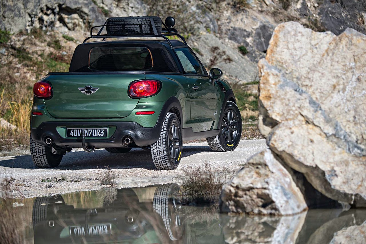 pick up center Mini Paceman Adventure